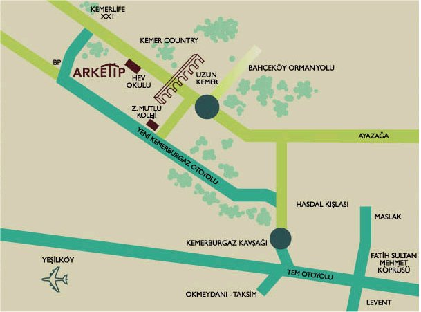 ARKETIP HOMES - MAP